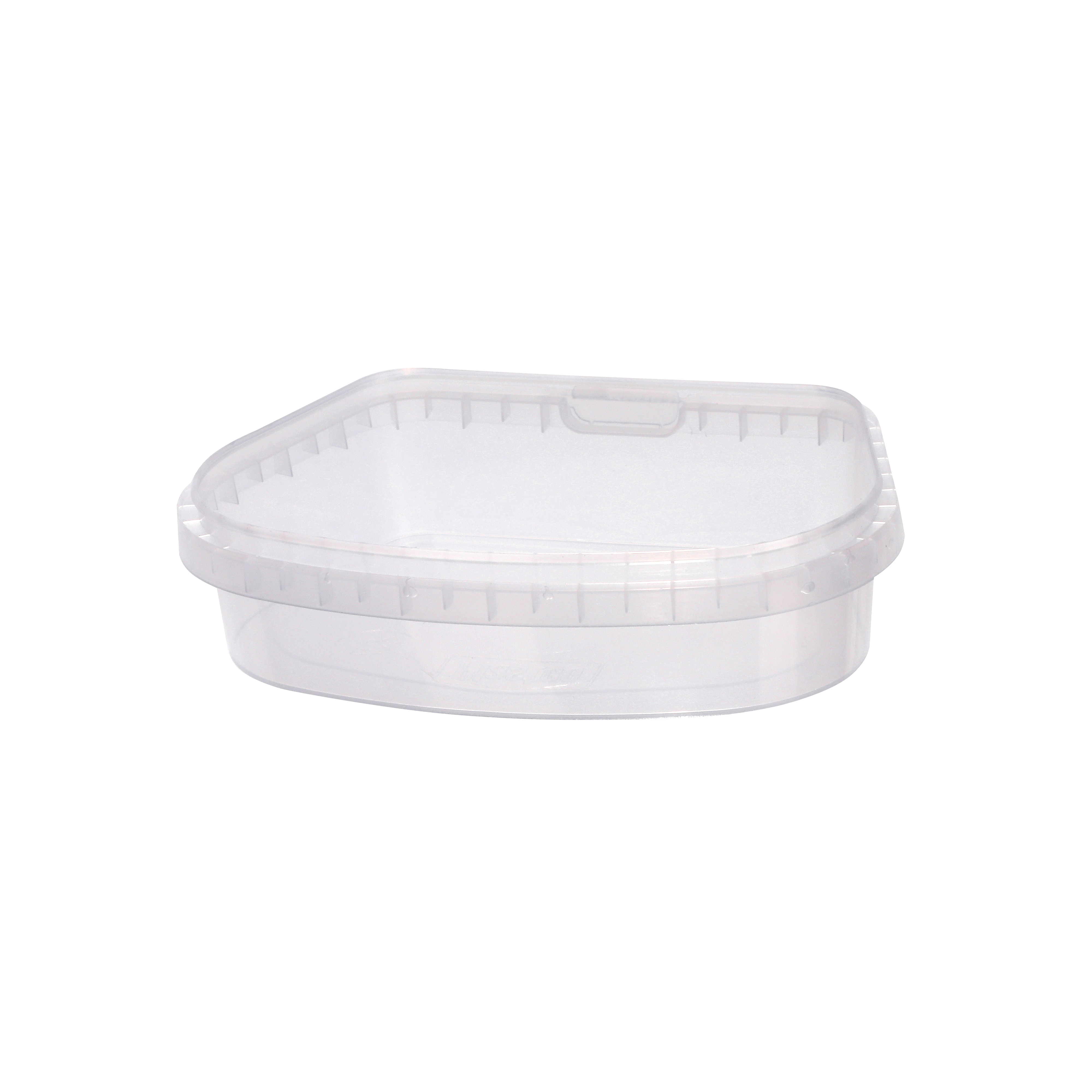 Tamper evident food container by Plastco is perfectly suitable for preserves, caviar, pickled vegetables and various kinds of salads.