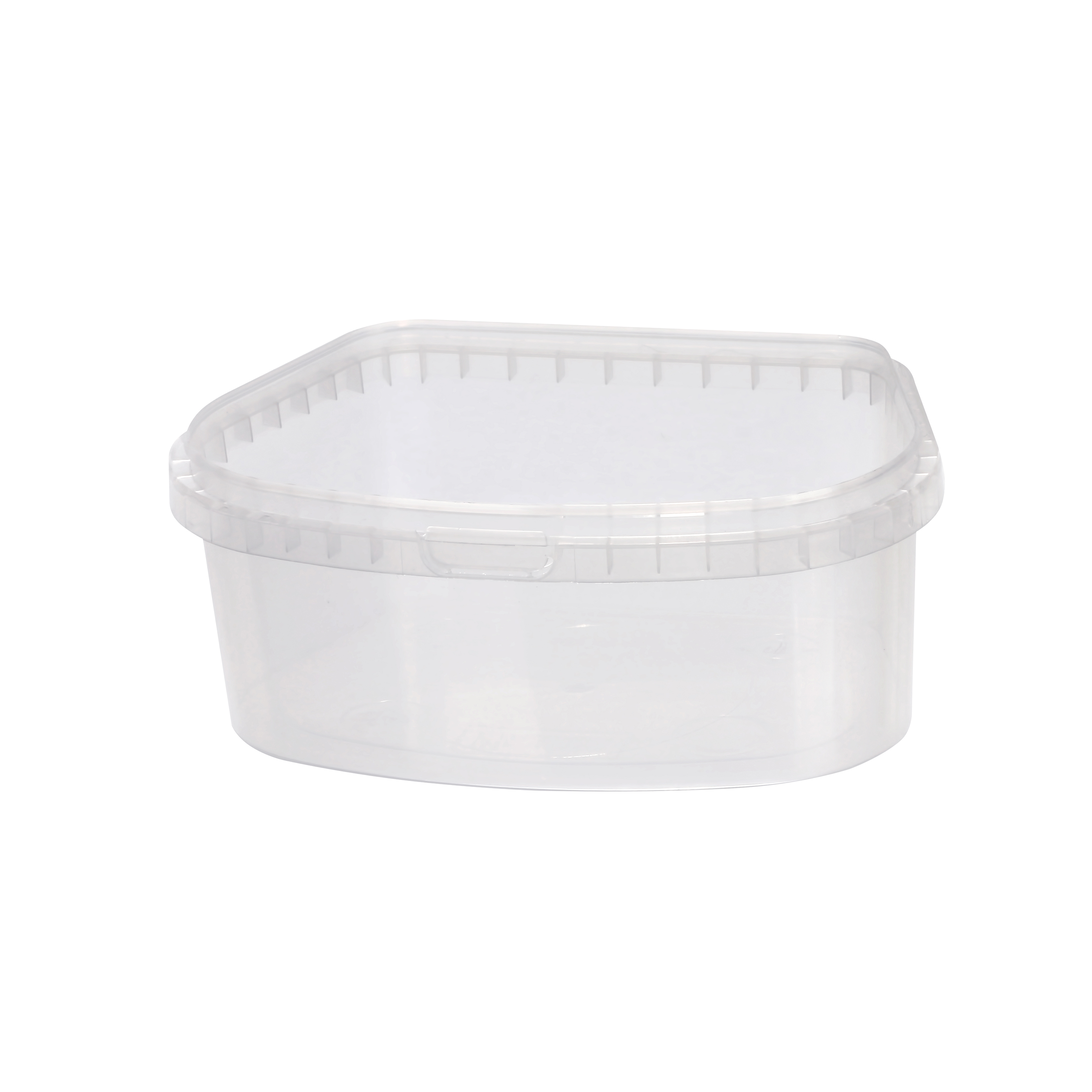 Polymeric tamper evident food containers created by Plastco keep products fresh