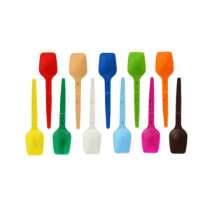 Plastic folding spoon can be pained in any color. Customization folding spoon helps to distinguish your product in the store. Buy folding plastic spoon in Poland