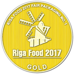 best packaging solution at Riga Food 2018. Lid with spoon closure are the best for dairy products