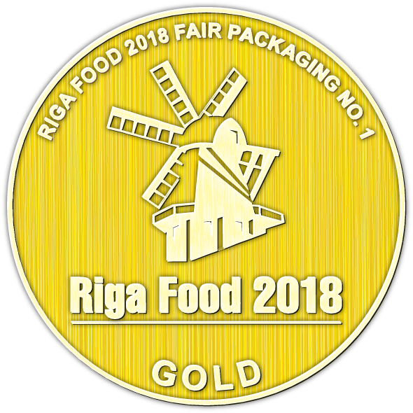 Fork with lid - best packaging option for food at Riga Food 2018 created by Plastco