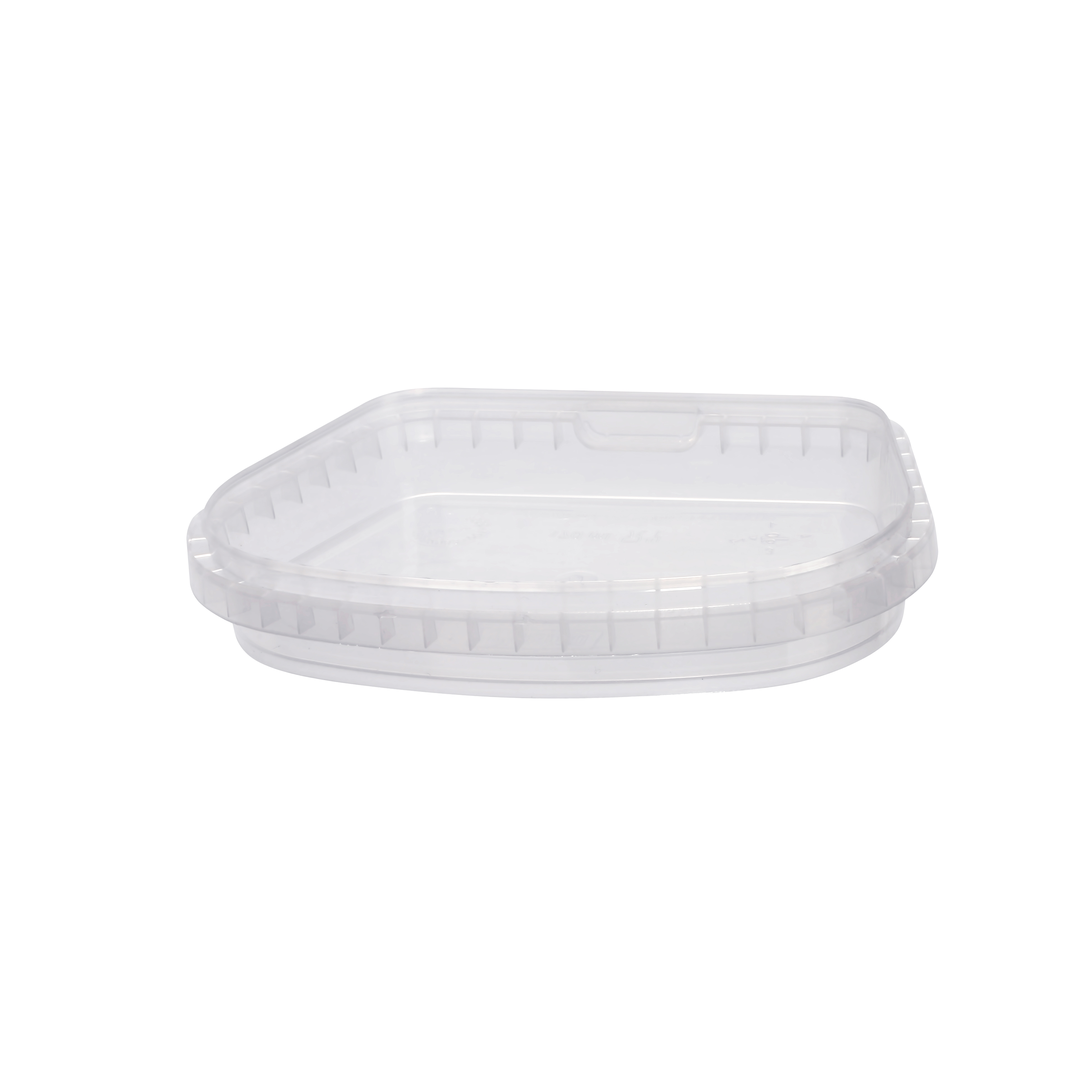 Food plastic packaging. Tamper evident Plastic food containers - 170 ml